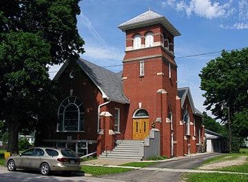 Federated Church in Avon, Illinois.